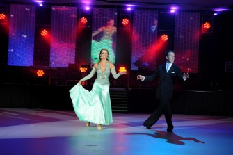 The Press and Journal Energy Ball, August 8, 2009. Dancers Anton Du Beke and Erin Boag. Picture by COLIN RENNIE